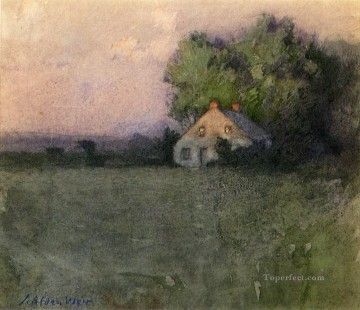 Julian Alden Weir Painting - Branchville Connecticut Julian Alden Weir